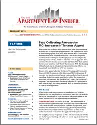 New York Apartment Law Insider - 12-Issue Subscription