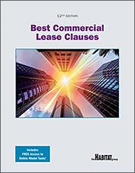 Best Commercial Lease Clauses, Twelfth Edition