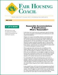 Fair Housing Coach - 12-Issue Subscription