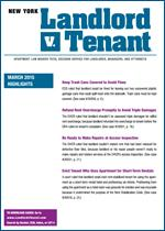 New York Landlord v. Tenant - 1 Year Online Subscription