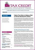 Tax Credit Housing Management Insider - 12-Issue Subscription